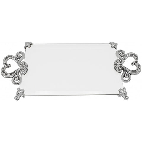 Marie Antoinette Tray Silver