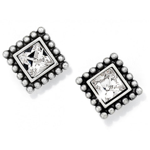 Sparkle Square Mini Post Earrings - Judee's
