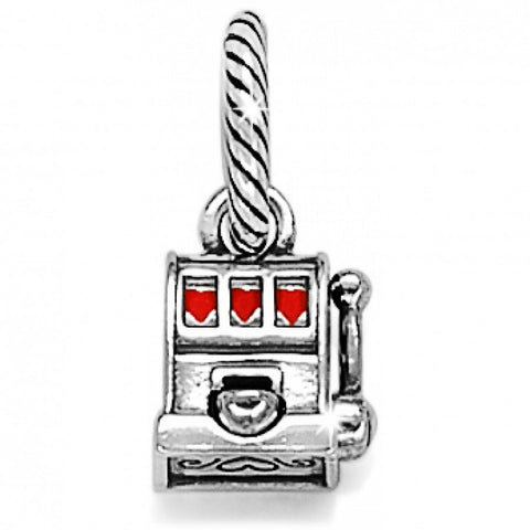 Slot Machine Charm Silver