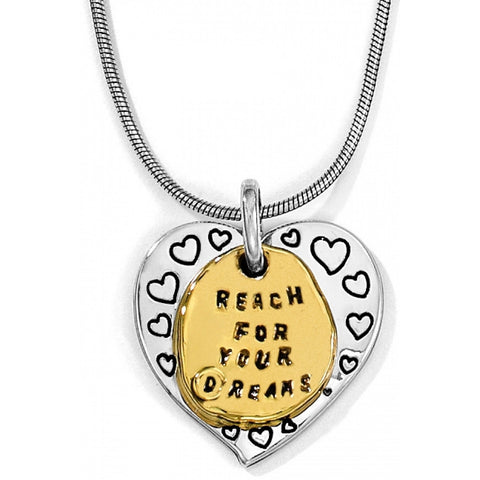 Love Quotes Reach Necklace - Judee's