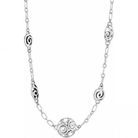 London Groove Long Necklace SIL - SIL