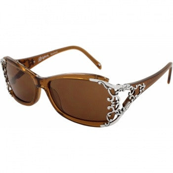 Summer Of Love Sunglasses BROWN - Judee's