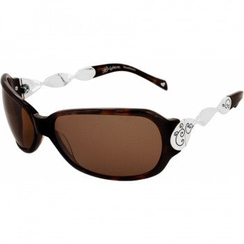 Twirl Sunglasses BROWN