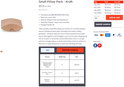 How a live shipping calculator on your product pages can increase conversions and sales