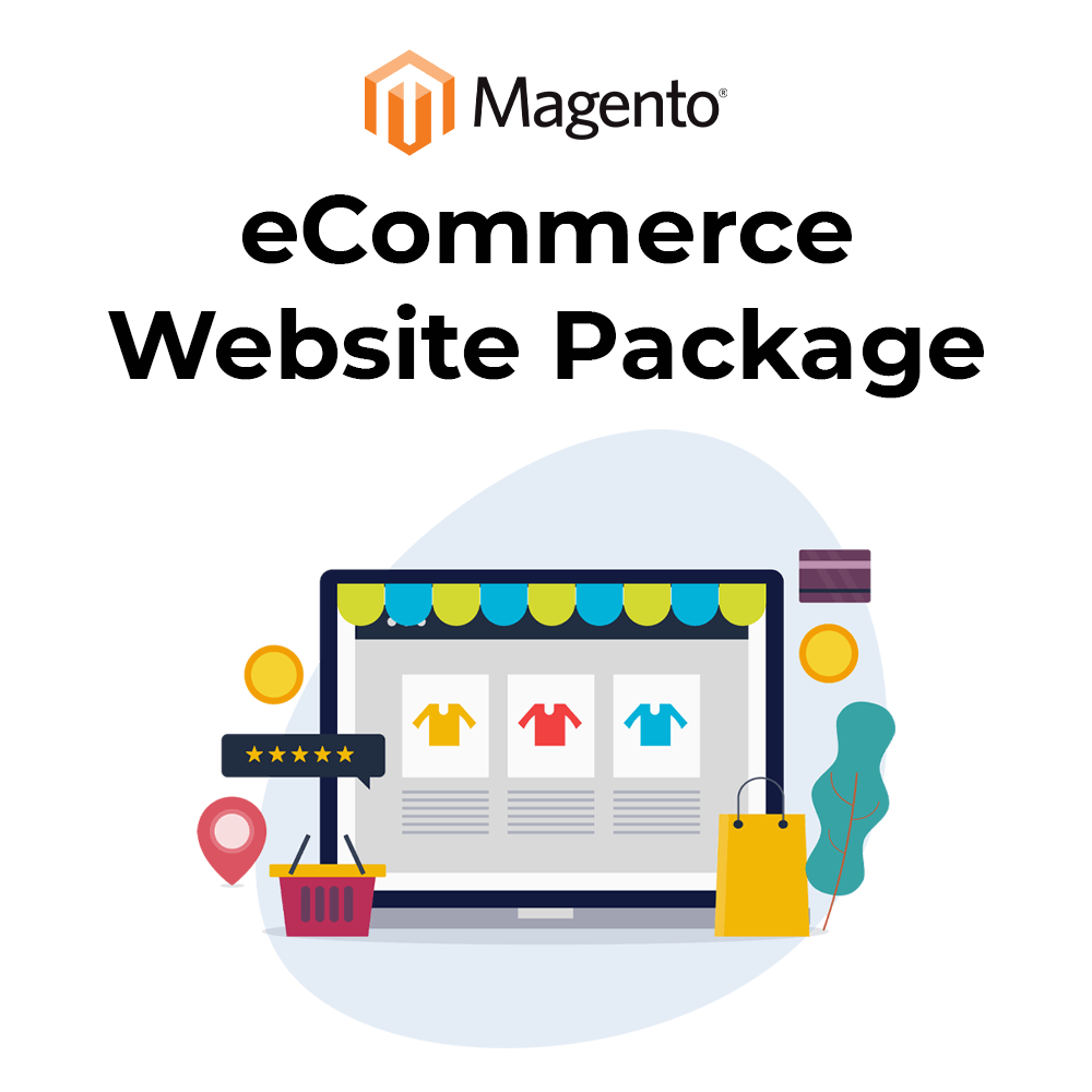 Magento eCommerce Website Package - Standard (FlexiPay) eCommerce theoddwave