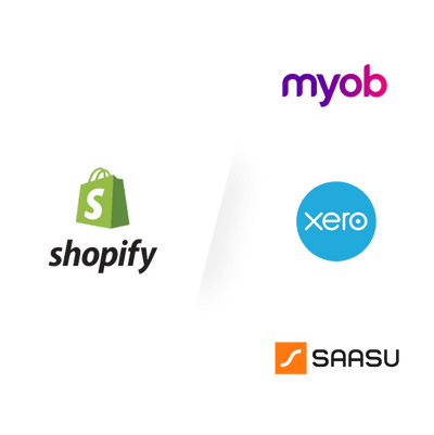 Connect Shopify To Xero / MYOB / SAASU - Addon Shopify theoddwave