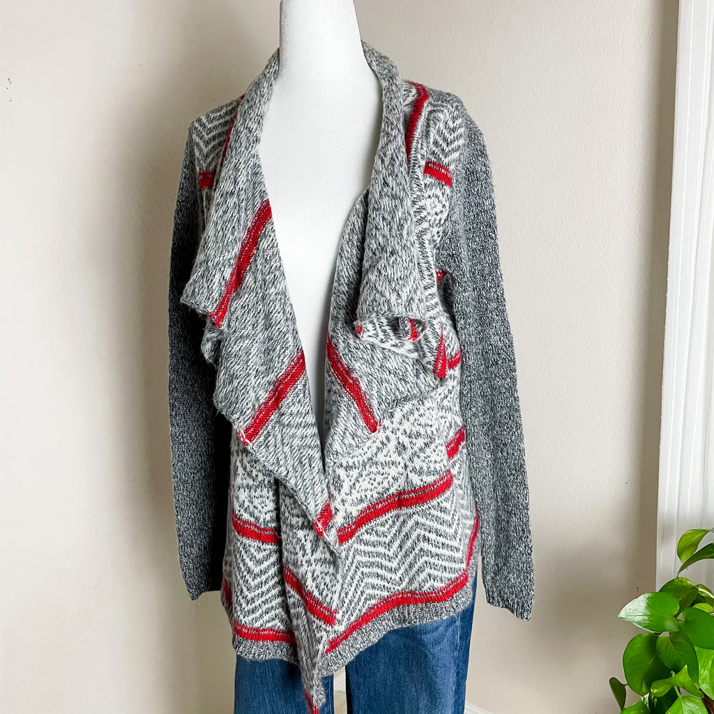 American Eagle Fair Isle Nordic Open Cardigan XS