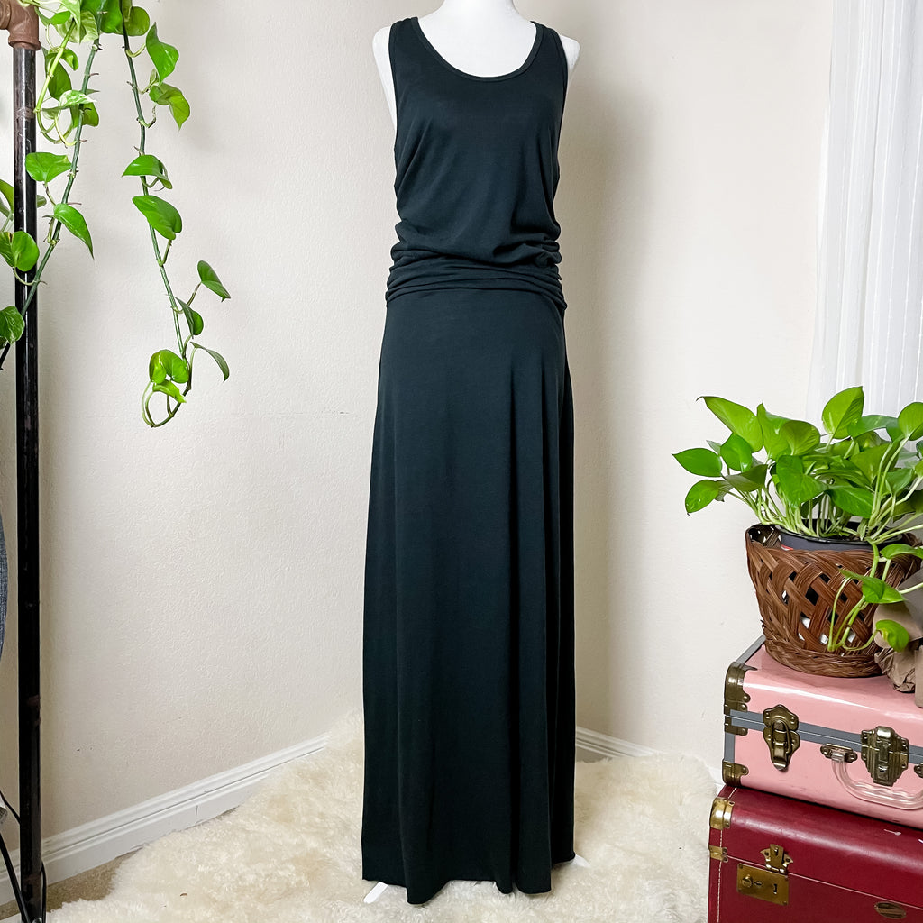 Alternative Earth Racerback Maxi Dress Navy L