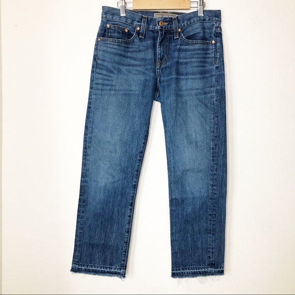 J. Crew Point Sur Vintage Cropped Jean Griffin 25