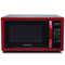 Farberware Classic 1.1 Cu. Ft. 1000-Watt Microwave Oven, Metallic Red