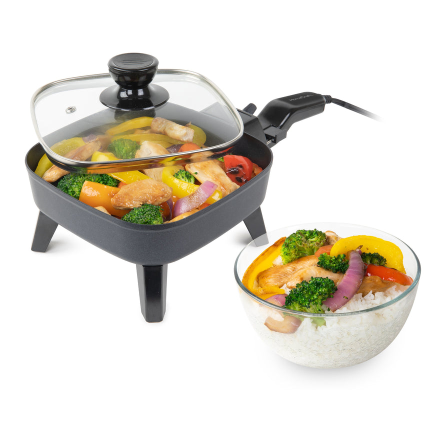 HomeCraft 6-Inch Electric Non-Stick Skillet