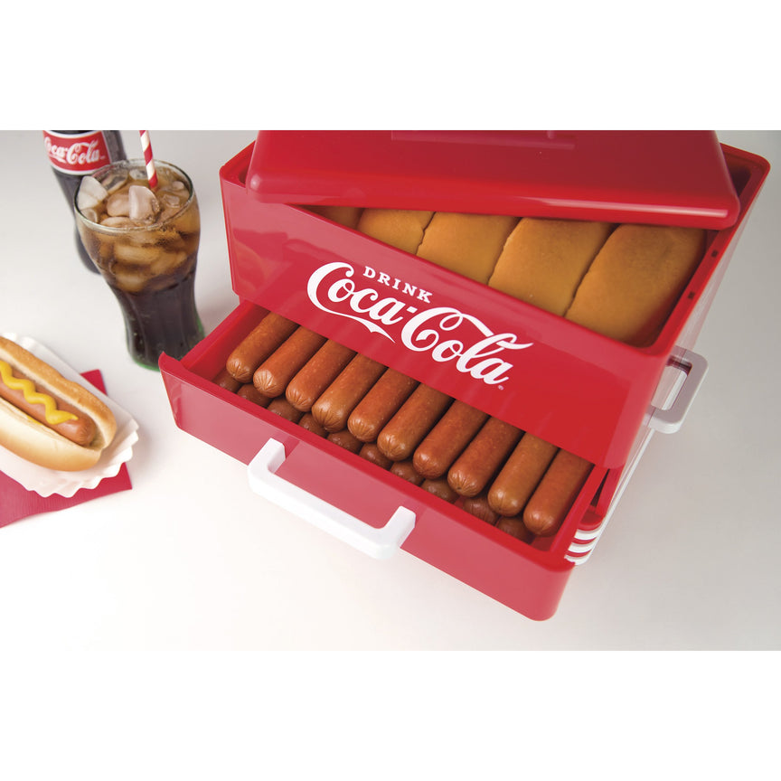 Coca-Cola® Large Hot Dog Steamer