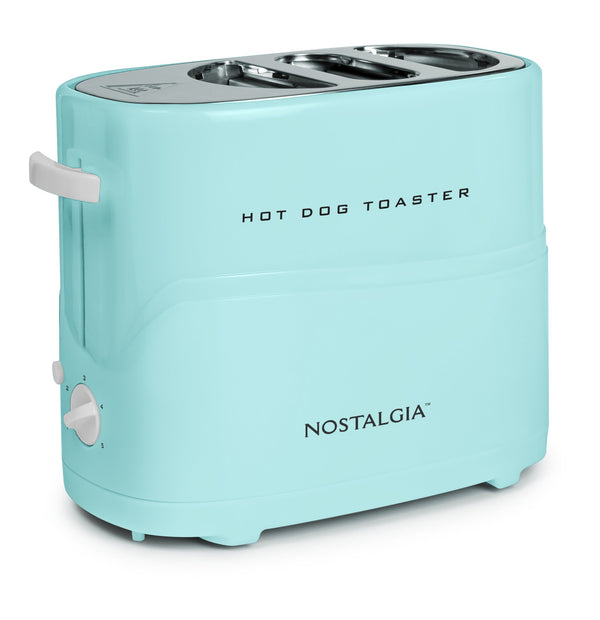 Retro Pop-Up Hot Dog Toaster, Aqua