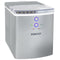 IGLOO® 33-Pound Automatic Portable Countertop Ice Maker Machine, Silver