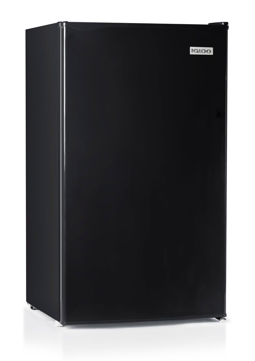 Igloo® 3.2 Cu. Ft. Refrigerator With Freezer, Black