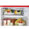 IGLOO® 3.2 Cu. Ft. Classic Compact Refrigerator Freezer w/ Chrome Handle & Bottle Opener - Red