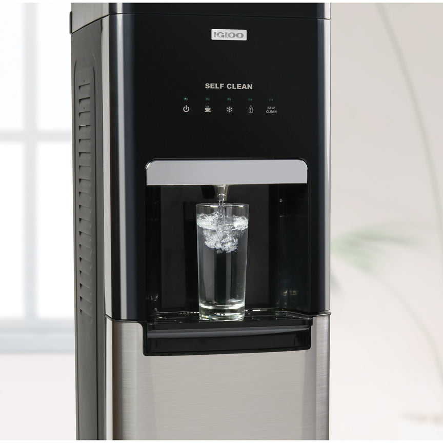 Igloo® Hot, Cold & Room Temperature Self-Cleaning Bottom Load Water Dispenser