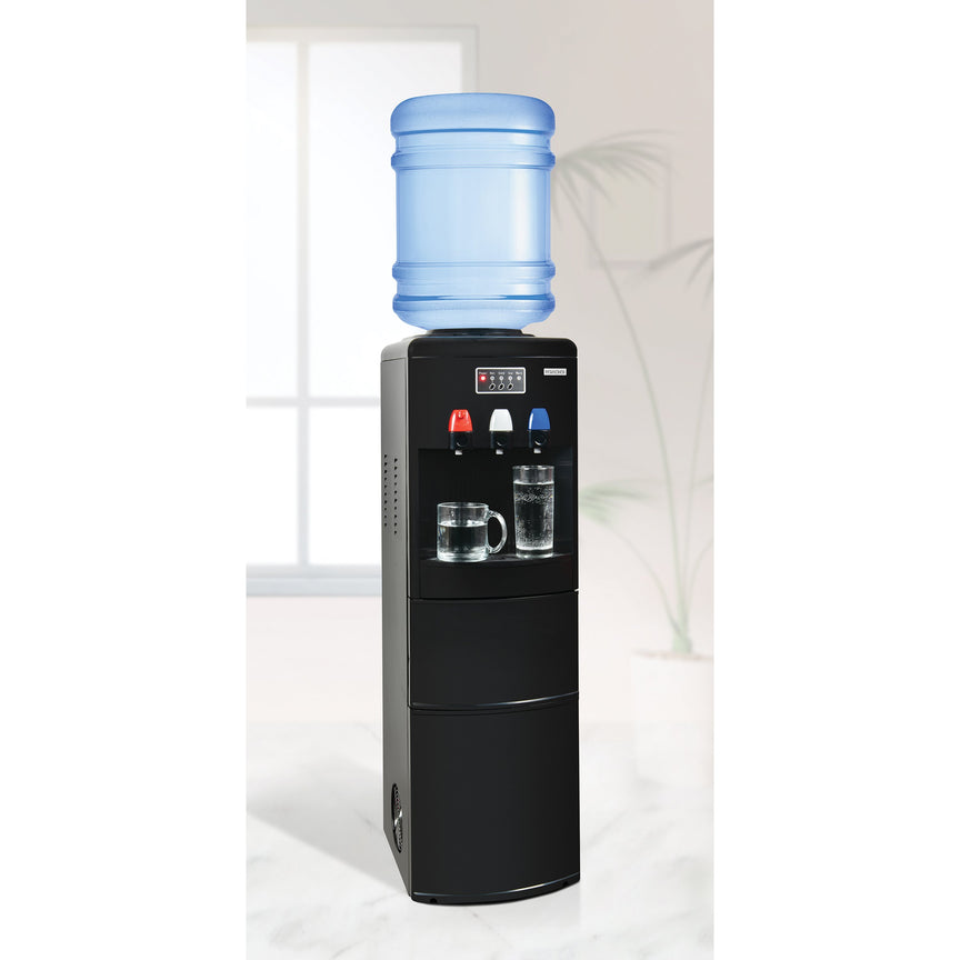 Igloo® Hot, Cold & Room Temperature Top Load Water Dispenser With Ice Maker