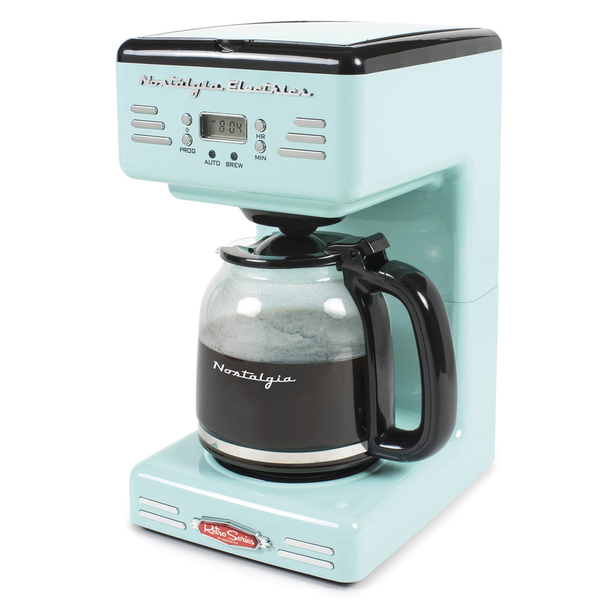 Retro 12-Cup Coffee Maker