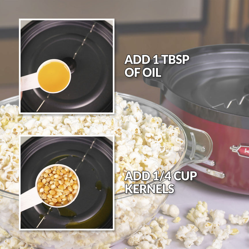 6-Quart Retro Stirring Popcorn Popper