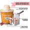 4-Quart Electric Wood Bucket Ice Cream Maker