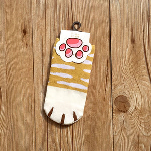 Cotton kawaii Cats Paw Socks