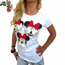 Load image into Gallery viewer, Kawaii T Shirt Harajuku Short Sleeve