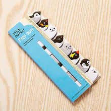 Load image into Gallery viewer, Kawaii Memo Pad Bookmarks Creative Cute Animal Sticky Notes