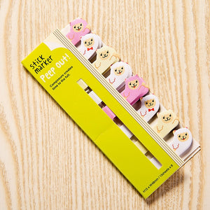 Kawaii Memo Pad Bookmarks Creative Cute Animal Sticky Notes