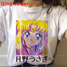 Load image into Gallery viewer, Sailor Moon Usagi Kawaii T-shirt