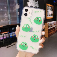 Load image into Gallery viewer, frog 3D bracket back phone case