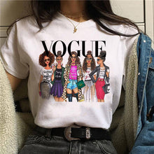 Load image into Gallery viewer, Vogue Princess Harajuku T Shirt Women Cute T-shirt 90s Fashion
