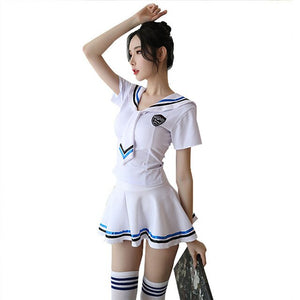 Kawaii Mini Dress - Lolita Japanese Student Uniform