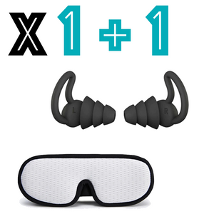 Sleepcare™ Ear Plugs + 3D Eye Mask
