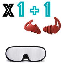 Load image into Gallery viewer, Sleepcare™ Ear Plugs + 3D Eye Mask