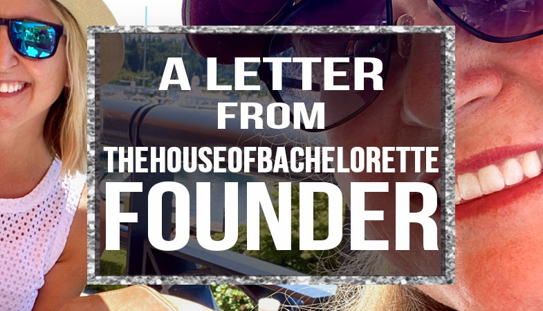 a letter from our founder