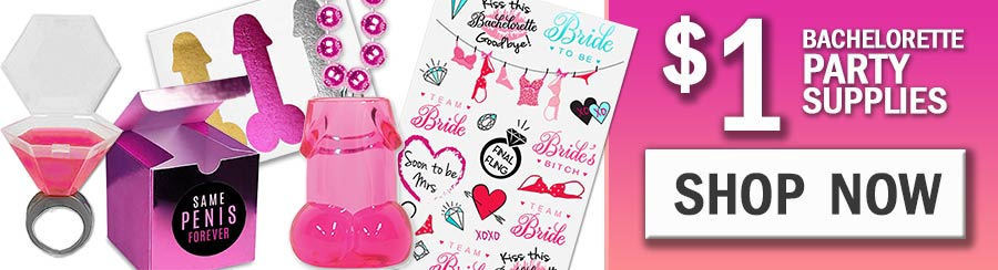 Cheap Bachelorette Party Supplies