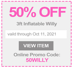 50% off Inflatable Willy