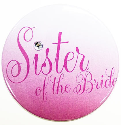 Flirty Sister of the Bride Button