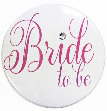 Flirty Bride To Be Button