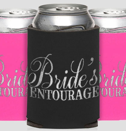 Bride's Entourage Flirty Can Cover