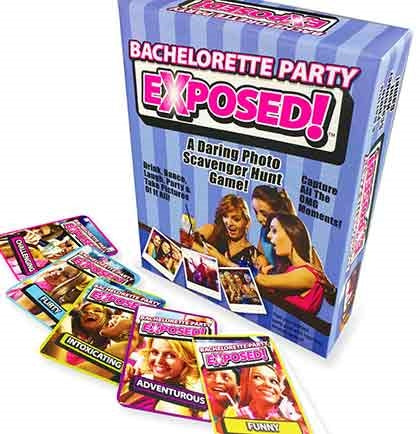 Bachelorette Party Exposed Party Game