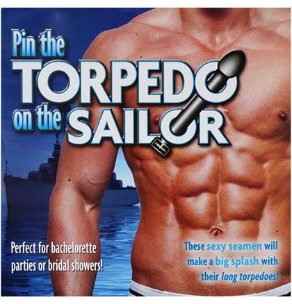 Pin the Torpedo on the Sailor Game