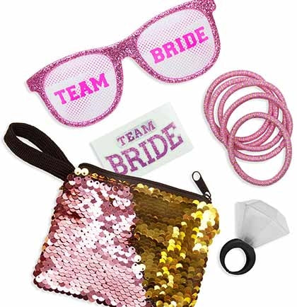 Light Pink Team Bride Small Favor Kit