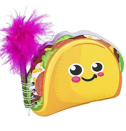"4"" Taco Notebook with Pen"