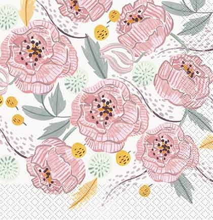 Floral Luncheon Napkin