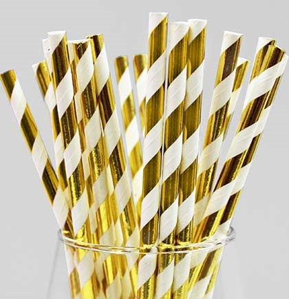 "The straws will add a fun pop of color to your drinks. The 7.5"" long lime and white color will make a nice addition to any theme."