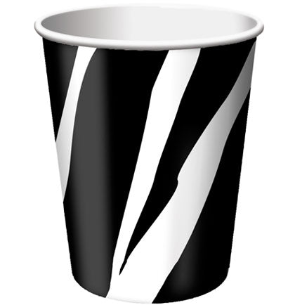 These disposable paper cups are perfect for a Bachelorette Party because they won't shatter or crack. The 9oz cups are a practical and inexpensive way to incorporate zebra print into your party.