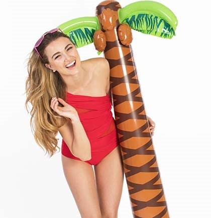 5.5ft Inflatable Palm Tree Decoration