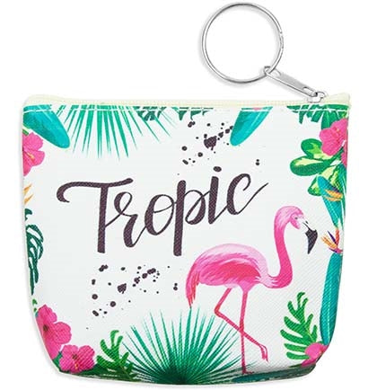 Tropic Keychain Coin Purse